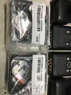 2 Motorola Dtr 700 900mhz Licence Libre Deux Numérique Way Radio Kit Complet