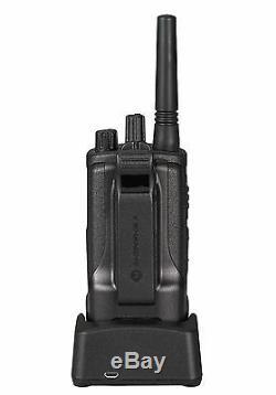 2 Motorola Rmu2080d 2 Watt 8 Canaux Uhf Affaires Radios Bidirectionnelles