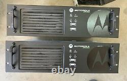 (2) Motorola Xpr8400 Répéteur Vhf 100 Watts