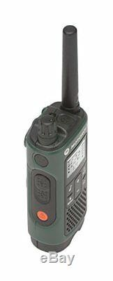 2 Pk Chasse Mains Libres Talkie-walkie Avec Un Casque Ptt Two Way Radio Gmrs Noaa
