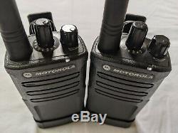 2 Réformé Motorola Rmv2080 Vhf Affaires Radios Bidirectionnelles