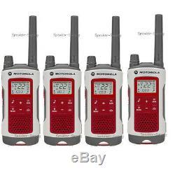4 Motorola Talkabout T480 Talkie Walkie Set 35 Mile Two Way Fm Radio Noaa Ptt