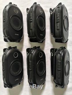 6 D'occasion Motorola Clp1040 Uhf Affaires Radios Bidirectionnelles Avec 6 Station De Recharge De La Baie
