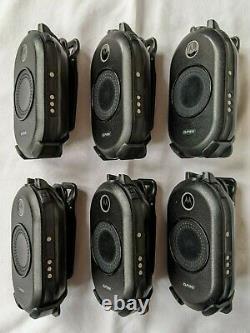 6 Motorola Clp1010 Uhf Affaires Radios Bidirectionnelles Avec Chargeur Multi-unit