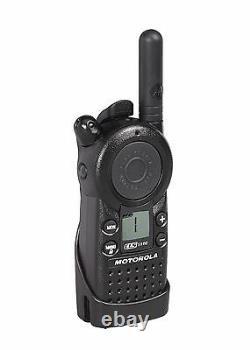 6 Motorola Cls1110 Uhf Business Radios Bi-sens Et Casques Hkln4604