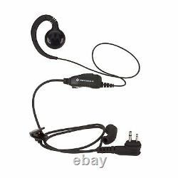 6 Motorola Rmu2040 2 Watt Uhf Radios Bi-sens + Casques D'écoute & Chargeur Bancaire