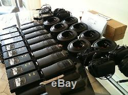 (8) Motorola Ht750 Deux Voies De Bande Basse Radios 29-42mhz 16ch Aah25bec9aa3an Xts Cp