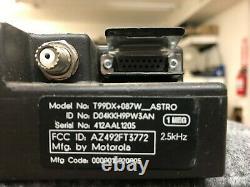 Approfondi Motorola Astro Spectra W3 Vhf P25 Radio Mobile Numérique 50 Watt Ham