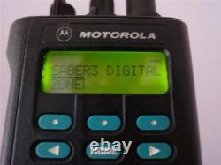 Astro Saber 3 III Motorola 800mhz P25 Et Numérique Sans Batterie