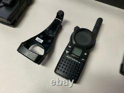 Lot De 6 Motorola Cls1413 Radio Bidirectionnelle Withbattery - Clip De Ceinture +chargeur Hctn4002a