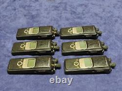 Lot De 7 Motorola Xts 5000 Astro Model II 700 / 800mhz Numérique 9600 Two Way Radio