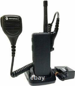 Motorola Apx3000 P25 Tdma Uhf Digital Two Way Radio Covert Adp Aes H59qdd9pw4an