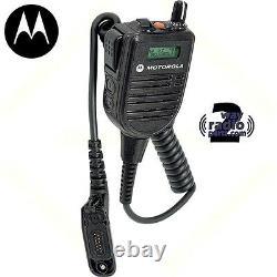 Motorola Apx6000 Apx7000 Apx8000 Hmn4104 B Impres Haut-parleur À Distance MIC W Affichage
