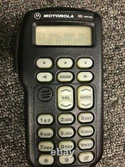 Motorola Astro Spectra W3 Uhf P25 Radio Mobile Numérique 40 Watt Complet
