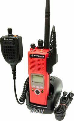 Motorola Astro Xts 5000 II Vhf Numérique P25 Radio À Deux Voies Aes Des Adp MIC Gps