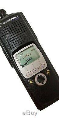 Motorola Astro Xts 5000 II Vhf P25 Radio À Deux Voies Smartzone Aes Des Adp Impres