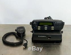 Motorola Cdm1250 Cdm1250 Vhf Bande Basse 42-50mhz Deux Voies 64 Canaux Du Mobile Radio