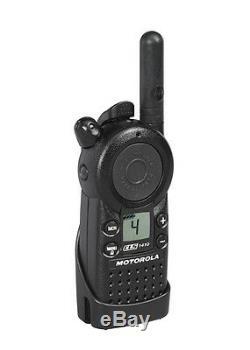 Motorola Cls1410 Two Way Radio Talkie Walkie Uhf Navires Rapides! Meilleur Prix