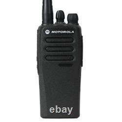 Motorola Cp200d Vhf 136-174mhz 5w Non Digital Analog Only Portable Two Way Radio