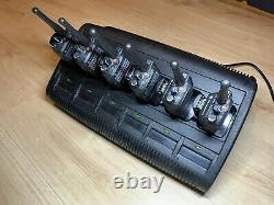 Motorola Dp3400 Uhf X 6 Radios Bidirectionnelles Avec Batteries Et Impres Multi Chargeur
