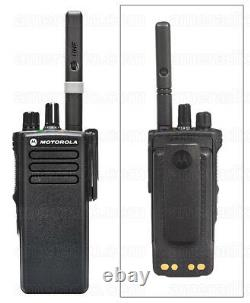 Motorola Dp4400e Uhf Digital Two Way Radio Walkie Talkie Dmr Sans Chargeur
