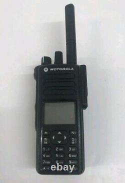 Motorola Dp4800 Uhf (ou Vhf) Digital Two Way Radio Walkie Talkie Dmr Ham