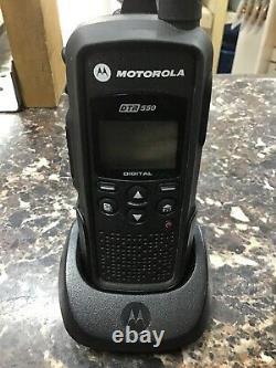 Motorola Dtr550 Numérique Portable Double Way Radio Noir