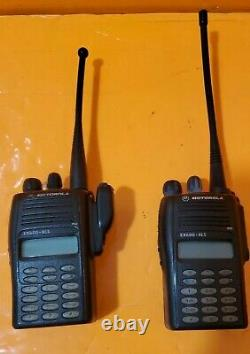 Motorola Ex600 Xls Radio À Deux Voies, Modèle Aah38sdh9du6an, Vhf