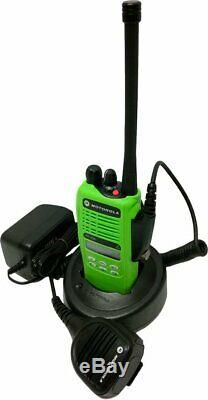 Motorola Ht1250 Low Band Two Way Radio 35-50 Mhz 128 Canaux De MDC Wide Band