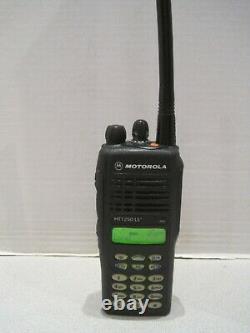 Motorola Ht1250 Ls + Vhf 136-174 Mhz Bidirectionnelle Radio Aah25kdh9aa6an