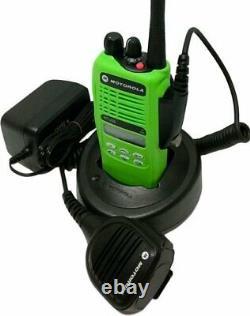 Motorola Ht1250 Vhf Modèle II Two Way Radio 136-174 Mhz MDC Ptt Aah25kdf9aa5an