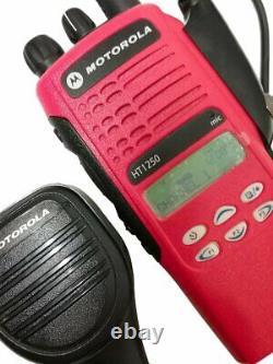 Motorola Ht1250 Vhf Narrow Band Two Way Radio 136-174 Mhz MDC Aah25kdf9aa5an