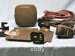 Motorola Mcs2000 Iii, Modèle Mo1hx+437w, 110 Watts Vhf Radio 146-174 Mhz Complet