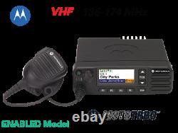 Motorola Mototrbo Xpr5550e Vhf 136-174 Mhz, Radio Mobile Numérique À Double Sens