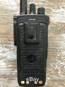 Motorola Mototrbo Xpr7550 Vhf 136-174mhz Two Way Radio Portable Aah56jdn9ka1an
