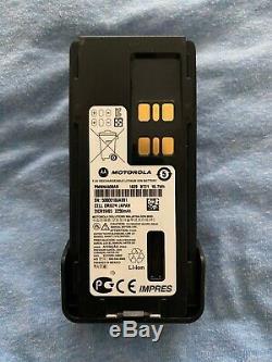 Motorola Mototrbo Xpr7550e Activé Uhf (403-512 Mhz) Portable Radio Bidirectionnelle