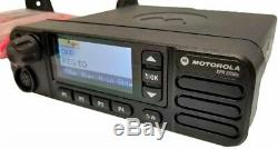 Motorola Mototrbo Xpr 5550 Two Way Radio LCD Couleur Exp Carte Control Station Dmr