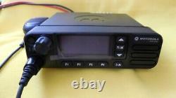 Motorola Mototrbo Xpr 5550e Uhf 450-512 Mhz, Radio Mobile Numérique À Double Sens