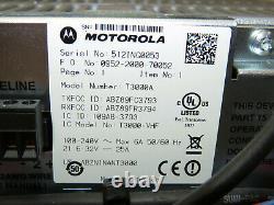 Motorola Mtr3000 Vhf 136-174mhz 100w Radio Mototrbo Numérique Répéteur T3000a Avec Ps