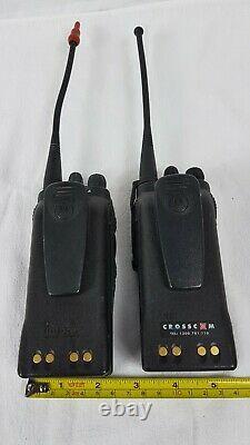 Motorola Mtx960 Portable Radio Bidirectionnelle Quantité Fournie 2 Utilisé