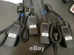 Motorola Pr860 Basse Bande 29-42mhz 16 Canal Radio Avec Deux Voies MIC
