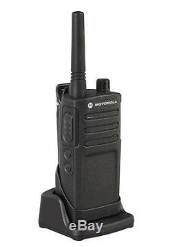 Motorola Rmm2050 Two Way Radio Talkie-walkie Avec Les Navires Murs Fréquences Rapides