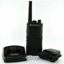 Motorola Rmu2040 Sur Place 4 Canaux Uhf Robuste À Deux Voies D'affaires Radio (noir)