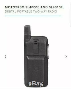 Motorola Sl4000 Compact Dmr Numérique Uhf Radio À Deux Voies Talkie Walkie