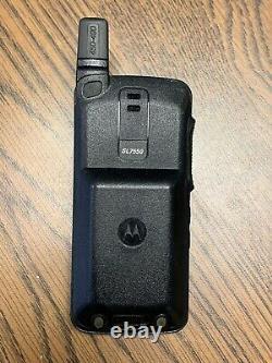 Motorola Sl7550 Uhf 403-470 Numérique Radio À Deux Voies Aah81qcn9na2 Mototrbo Utilisé 1an