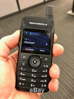Motorola Sl7550 Uhf 403-470 Numérique Radio À Deux Voies Aah81qcn9na2an Mototrbo Bon