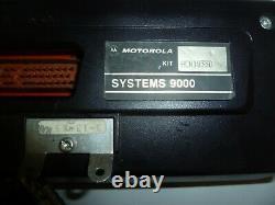 Motorola Syntor Xx9000 Double Tete 30-50 Mhz 100 Watt Bande Basse Two Way Radio Ga