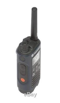 Motorola T460 Bidirectionnelle Radio / Talkie-walkie 6 Pack Avec 6 Curl Earpieces