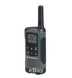 Motorola Talkabout T200 Talkie Walkie 4 Pack Set 20 Mile Two Way Radio Package