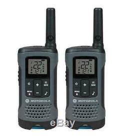Motorola Talkabout T200 Talkie Walkie 8 Pack Combinée 20 Mile Two Way Radio Package
